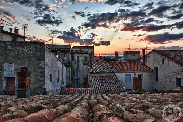 HDR Sunset Montpellier