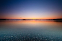 Simple Sunset (Bryan O'Toole) Tags: longexposure sunset camp lake ontario canada landscape nikon scenic cp longshutter manfrotto northernontario waterscape algoma kenko singhray snowshoecamp lakewakomata wakomatalake kenkopro1d singhrayrgnd nikond7000 nikkorafs1024mm