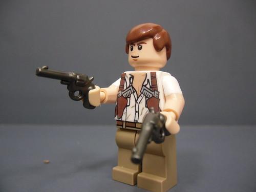 Custom minifig Rick O'Connell