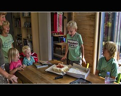 Birthday Boy (Wim Koopman) Tags: birthday friends boy party holland netherlands dutch cake happy photography photo blw candles stock mother nederland blowing celebration nephew friesland familiy stockphoto stockphotography kubaard wpk