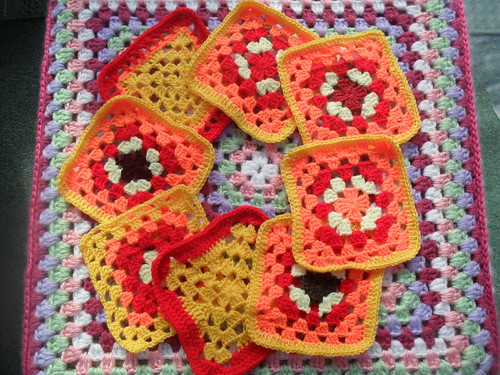 'Bright and Breezy' reminds me of the sun. Thank you so much for the gorgeous Squares.