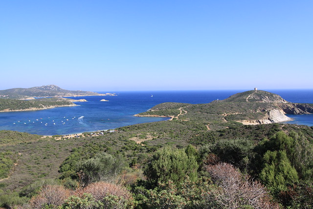 Capo Malfatana on the Costa del Sud, Sardinia.