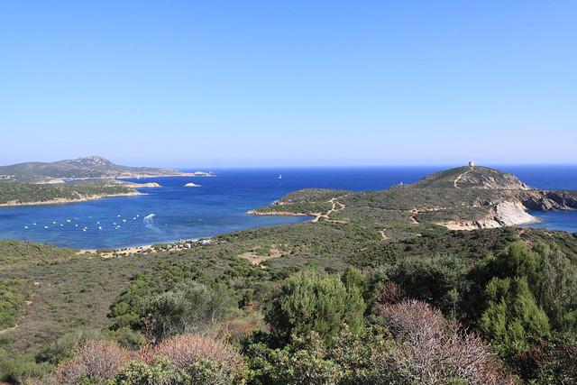 Capo Malfatana on the Costa del Sud, Sardinia.