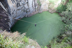 Flying fox (Liz_Rogers) Tags: volcano scubadiving cavediving mthypipamee