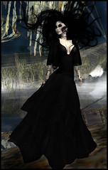 Sn@tch - Nightmare (KEVINN Draconia (Beauty Killer)) Tags: halloween fashion ghost gothic goth sl secondlife virtual horror nightmare snatch ivey sntch iheartsl iveydeschanel