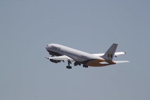 Monarch A300 G-OJMR