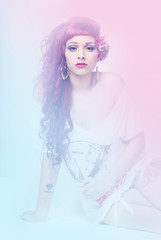 DSC_0142 - Copie (fallenova) Tags: old school girl up fashion vintage pin emo style scene retro queen gyaru