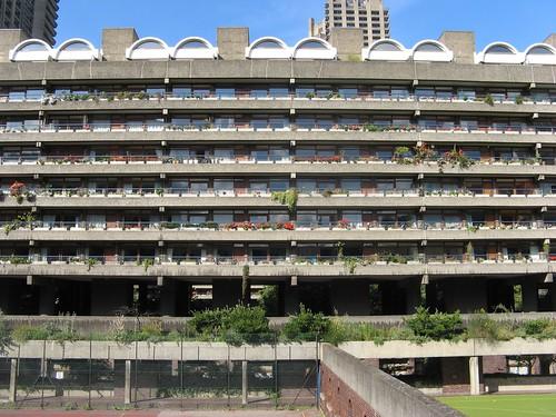 Barbican balconies