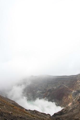 阿蘇山 ロープウェイと火口