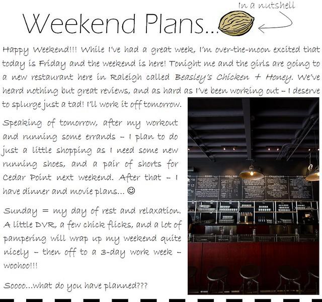 weekend plans 8.26