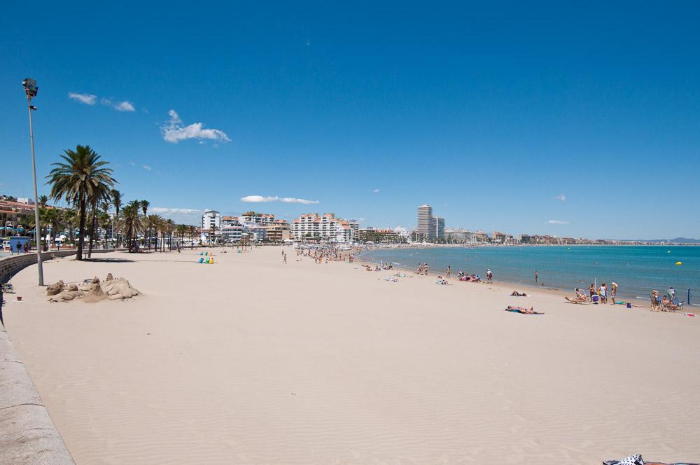 La playa de pe iscola for Hotel playa peniscola