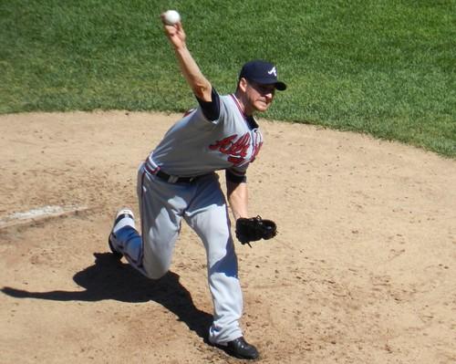 Braves Pitcher Brandon Beachy by Chicago Man, on Flickr