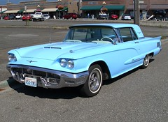 auto classic ford hardtop car washington antique thunderbird 1960 sedrowoolley tcar
