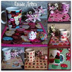 Mosaico Cupcake (**DASDE Artes!**) Tags: cupcake tapetedecaneca mugrg canecapersonaliada