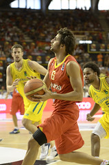 España Australia (Garvm) Tags: españa valencia basketball spain basket australia rudy international navarro mills nielsen baloncesto gasol rubio claver calderón ñba internacionalnba
