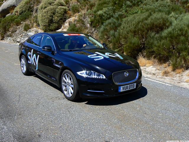 Vuelta a España 2011 - Puerto de Mijares Jaguar SKY