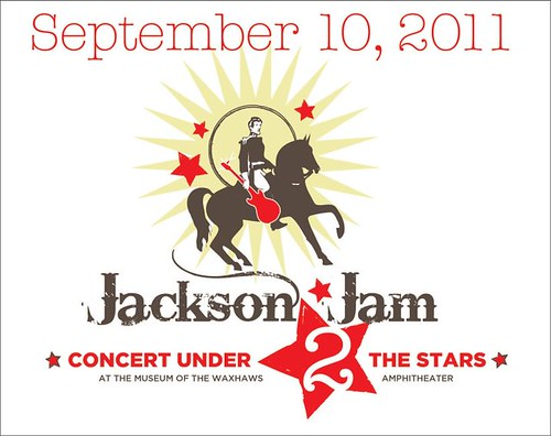 Jackson Jam Make-up concert flyer