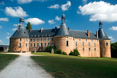 Château de Saint-Fargeau (StefanoPiemonte) Tags: francia 2011 borgogna châteaudesaintfargeau castellifortezze