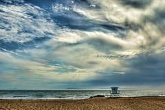 Friday @ 03:17PM (...-Wink-...) Tags: california beach water sand day cloudy hdr ventura cs4 hss photomatix sigma18200 nikond80 topazadjust slidersunday