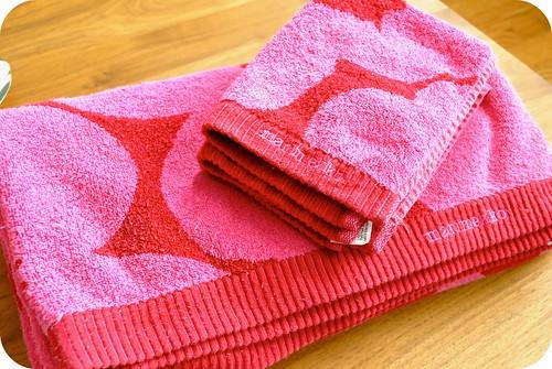 marimekko towels
