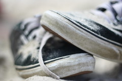 Vans (RyanDonoghuePhotography) Tags: macro sand shoes cape vans cod