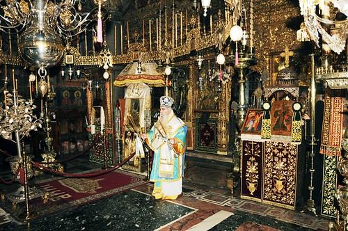 Fiesta de la teofanía en el Monasterio Vatopedi
