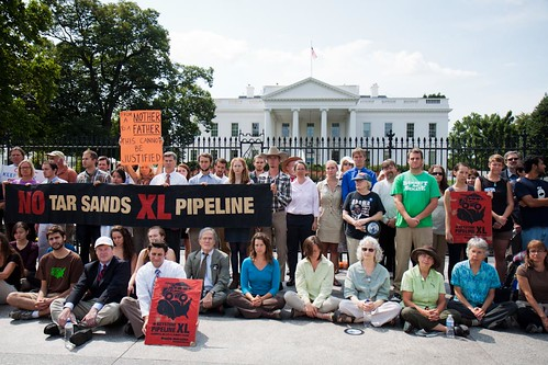 Activists Protest Keystone XL Pipeline