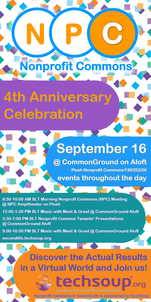 Nonprofit Commons 4th anniv party