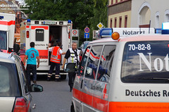 Auffahrunfall nach Kollaps Erbenheim 30.08.11
