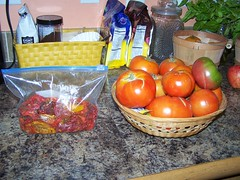 tomatoes store compactly when dehydrated