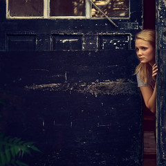 365/229 - The Blue Door (RachelMarieSmith) Tags: portrait true photography blood hbo project365 trueblood 365project sookiestackhouse 365photography rachelmariesmith
