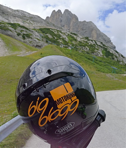 bigblogg sticker in the Dolomites