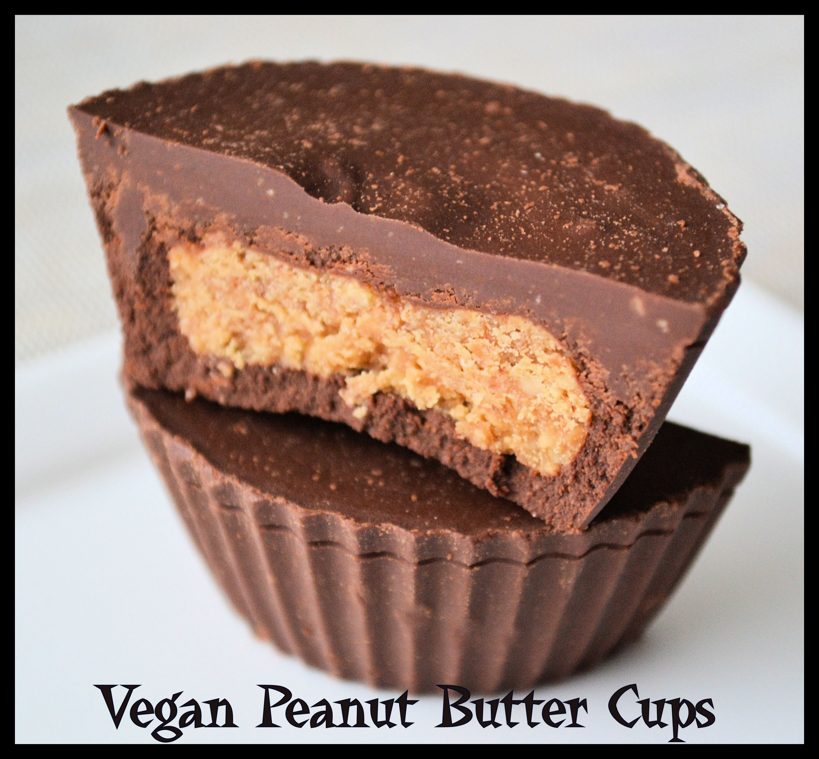 Vegan Peanut Butter Cups 1