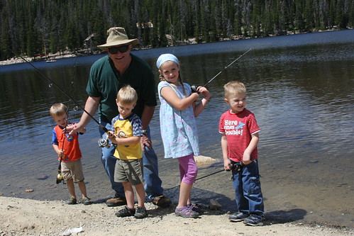 Fishing with Grandpa 2011