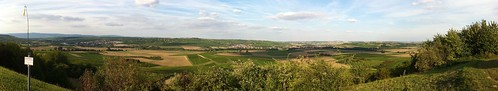 Panorama: Hier fliegt Ikarus über dem Selztal