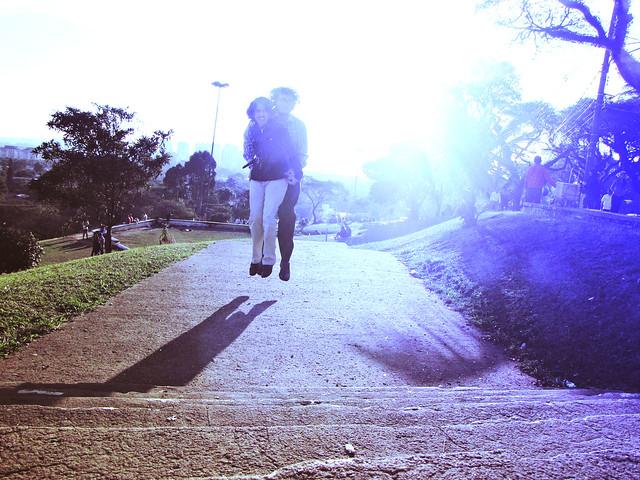 l'amour dans le ciel