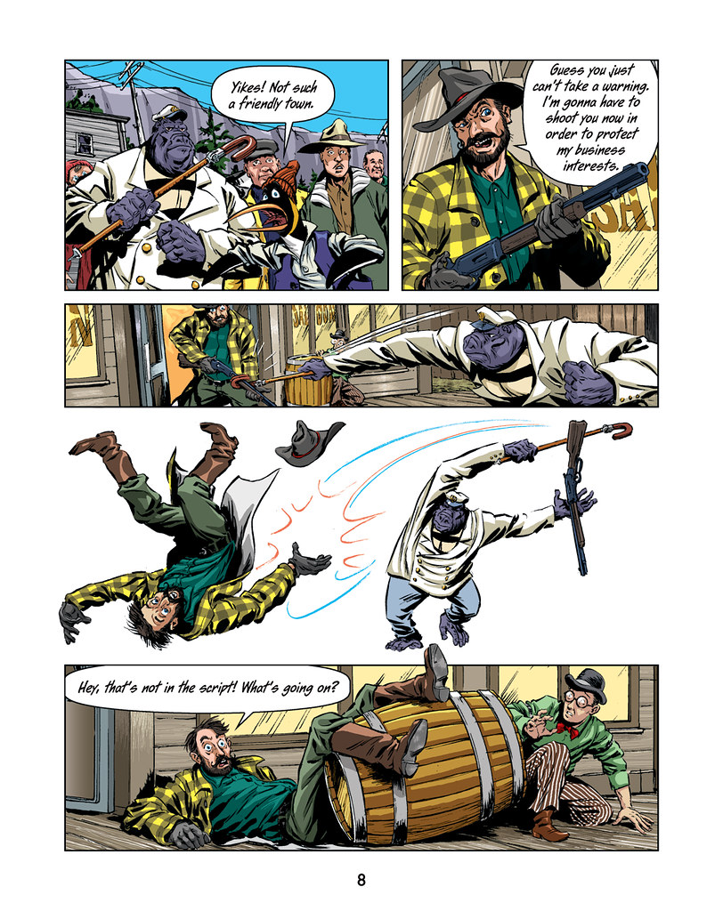 Klondike Gold - page 8 - colour and type