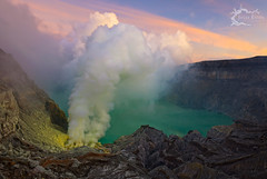 Kawah Ijen - East Java, Indonesia 2011 (Jesse Estes) Tags: indonesia smoke mining sulfur eastjava kawahijen