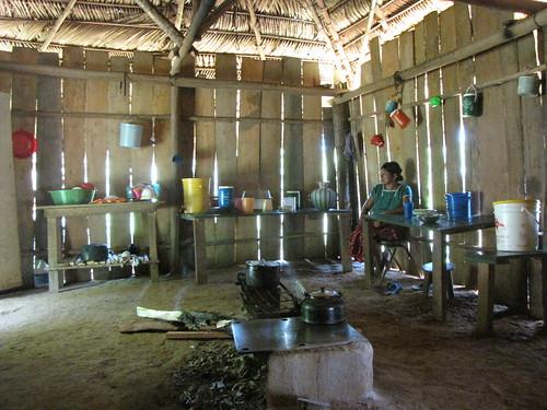 home in Crique Sarco, Belize