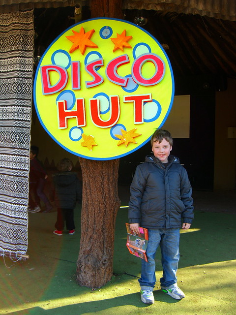 Luca at the The Disco Hut