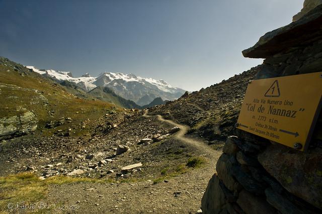 Monte Rosa dal Col de Nannaz, 2773 m s.l.m.