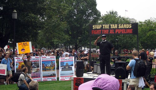 Rev. Lennox Yearwood Addresses Tar Sands Rally