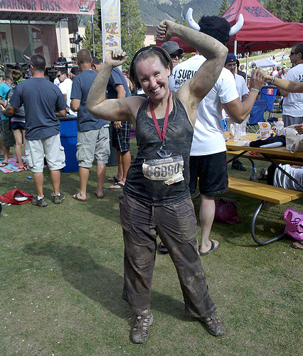 Kate after Warrior Dash