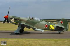 RA-3587K - 0470406 - Private - Yakovlev Yak-9UM - 110710 - Duxford - Steven Gray - IMG_9530