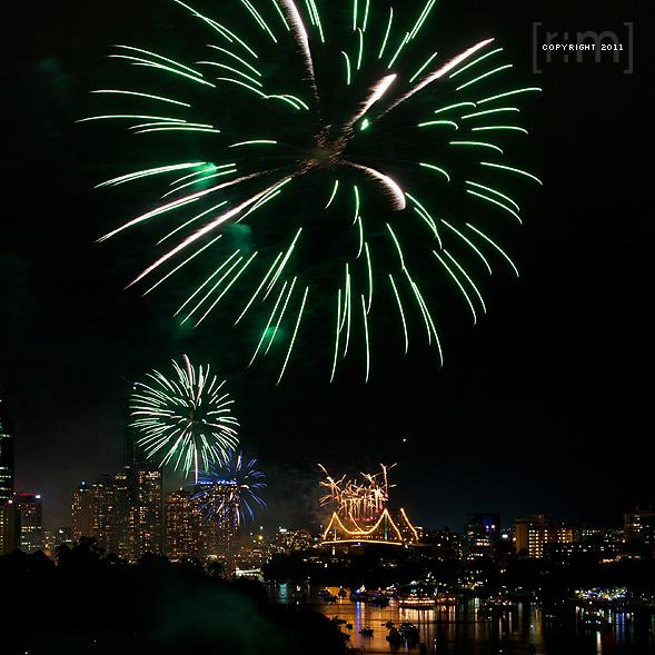 Brisbane Festival 2011 - Sunsuper Riverfire 2011