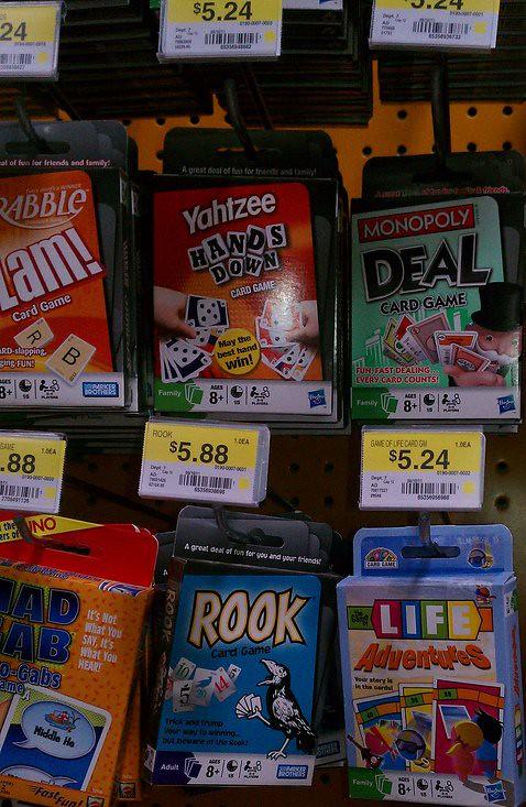 Hasbro Family Game Night Coupons & Target Walmart Scenario