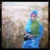 Me In Other Medium I (AquariusVII) Tags: 120 mediumformat kodak hijab medium filem kodak120 yashica24 flowerofislam aquariusvii tjlens