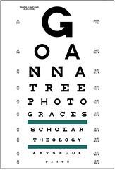 VSP Eye Chart