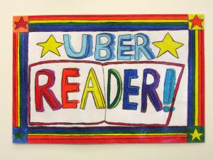 Uber Reader 4th Grade Sign