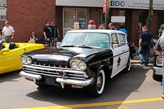 "1960 Rambler Super police car, from the ""Andy Griffiths Show"" (JarvisEye) Tags: auto show canada car automobile antique police super newbrunswick moncton rambler concours 1960 2011 andygriffiths atlanticnationals"